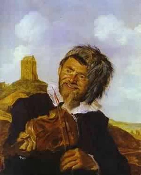 Fisherman playing a fiddle 1630 thyssen bornemisza collec